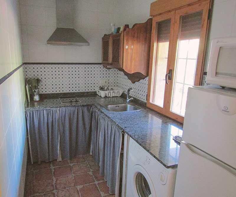 Casas Rurales en Yeste Rio Tus - Albacete, cocina