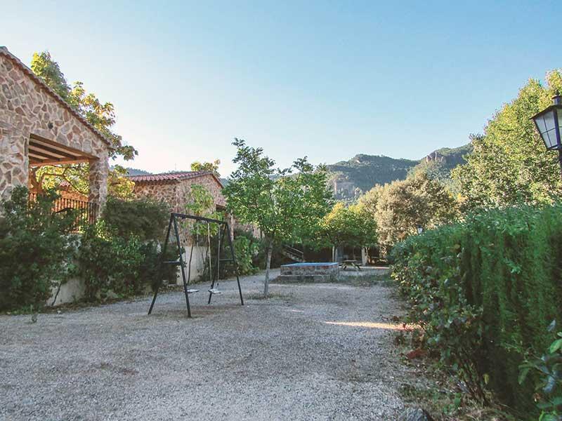 Casas Rurales en Yeste Rio Tus - Albacete, zona de ocio, parque para niños