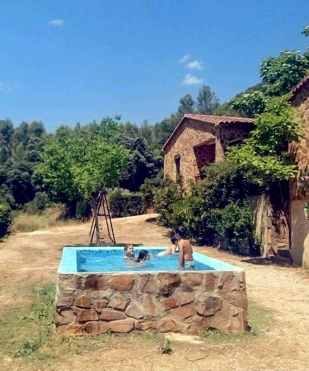 Casas Rurales en Yeste Rio Tus, vista de Piscina