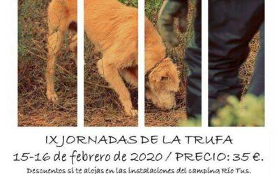 IX Jornadas de la Trufa en Valle de Tus, Yeste, Albacete