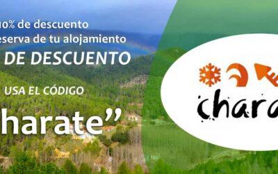Campaña Descuento Alojamientos Rurales para Charate