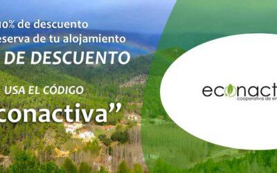 Campaña Descuento Alojamientos Rurales para Econactiva