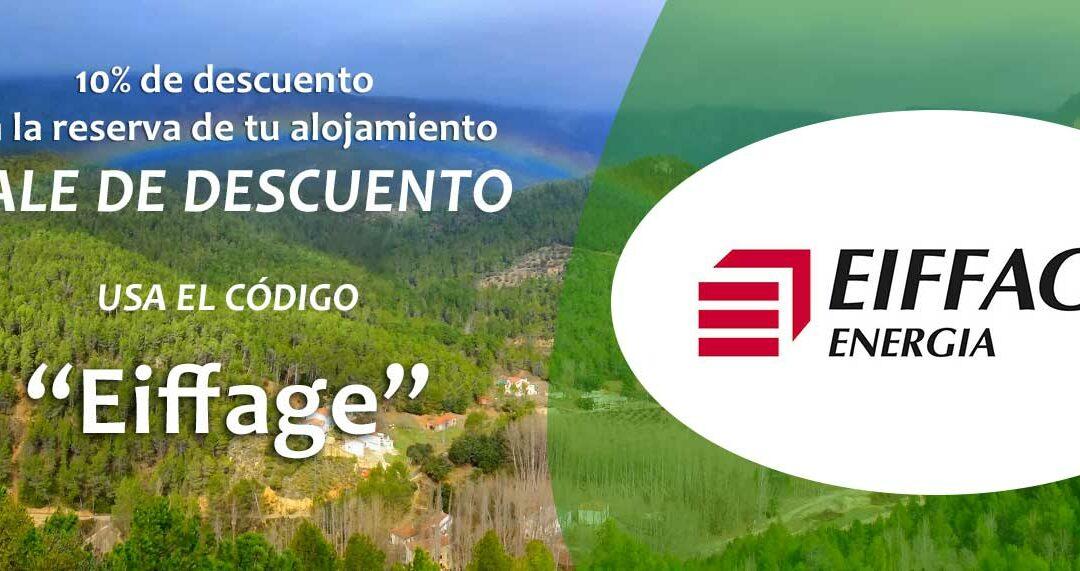 Campaña Descuento Alojamientos Rurales Eiffage
