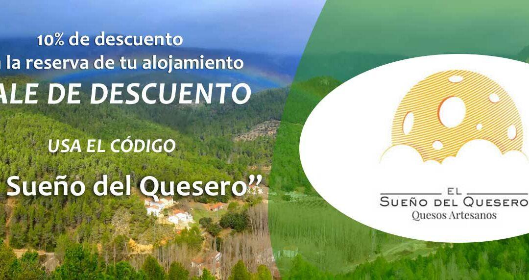 Campaña Descuento Alojamientos Rurales para El Sueño del Quesero