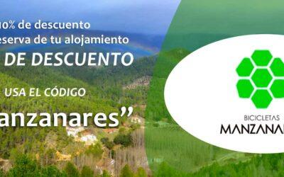 Campaña Descuento Alojamientos Rurales para Bicicletas Manzanares