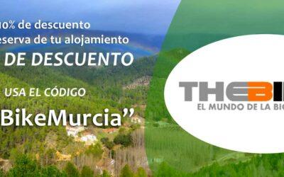 Campaña Descuento Alojamientos Rurales para The Bike Murcia