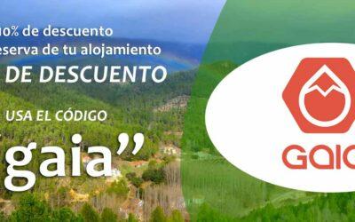 Campaña Descuento Alojamientos Rurales para Gaia